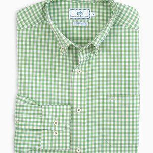 Men's Bufflehead Gingham Intercoastal Sport Shirt